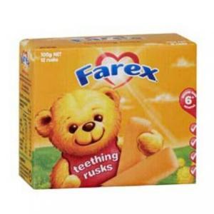 Farex 婴儿磨牙棒 12支 6个月以上